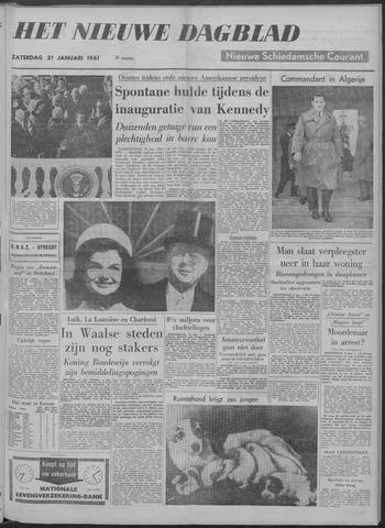 Nieuwe Schiedamsche Courant 1961-01-21