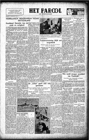 Rotterdamsch Parool / De Schiedammer 1947-01-15
