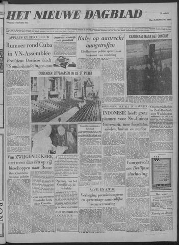 Nieuwe Schiedamsche Courant 1962-10-09
