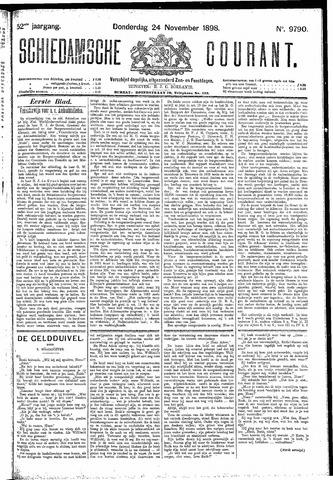 Schiedamsche Courant 1898-11-24