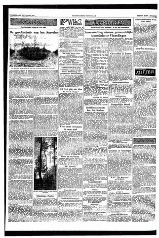 Rotterdamsch Nieuwsblad / Schiedamsche Courant / Rotterdams Dagblad / Waterweg / Algemeen Dagblad 1953-09-03