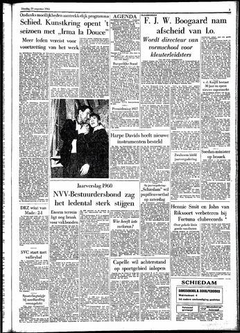 Rotterdamsch Parool / De Schiedammer 1961-08-29