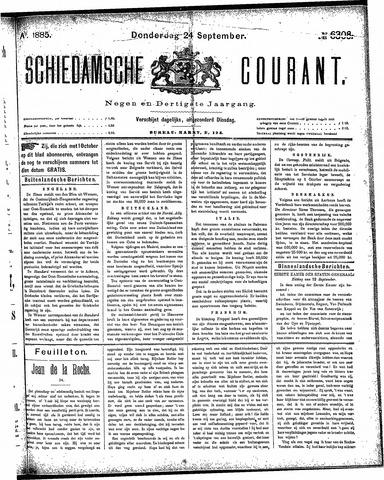 Schiedamsche Courant 1885-09-24