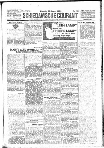 Schiedamsche Courant 1931-01-28