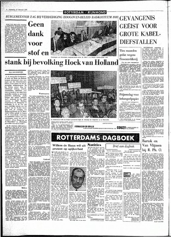 Rotterdamsch Parool / De Schiedammer 1970-02-25