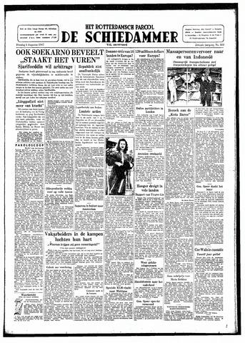 Rotterdamsch Parool / De Schiedammer 1947-08-05