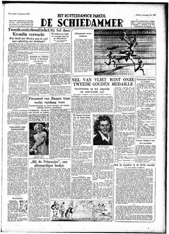 Rotterdamsch Parool / De Schiedammer 1948-08-04