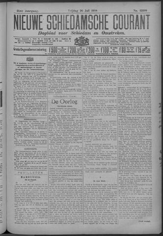 Nieuwe Schiedamsche Courant 1918-07-26