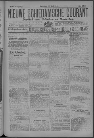 Nieuwe Schiedamsche Courant 1918-05-25