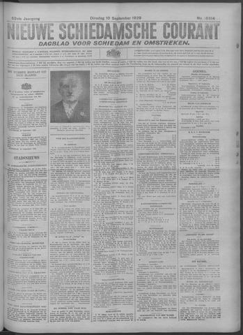 Nieuwe Schiedamsche Courant 1929-09-10