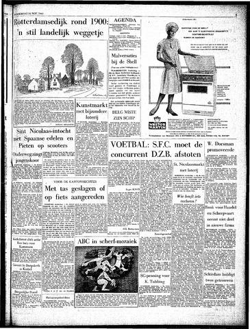 Rotterdamsch Parool / De Schiedammer 1962-11-22