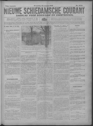 Nieuwe Schiedamsche Courant 1929-01-23