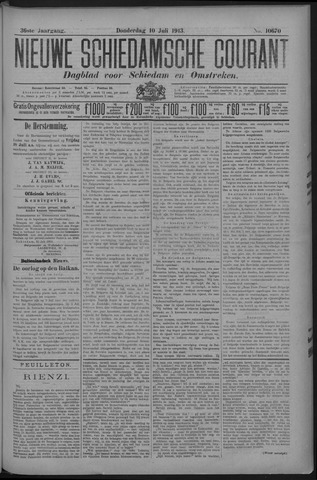 Nieuwe Schiedamsche Courant 1913-07-10