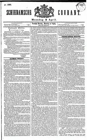 Schiedamsche Courant 1866-04-02