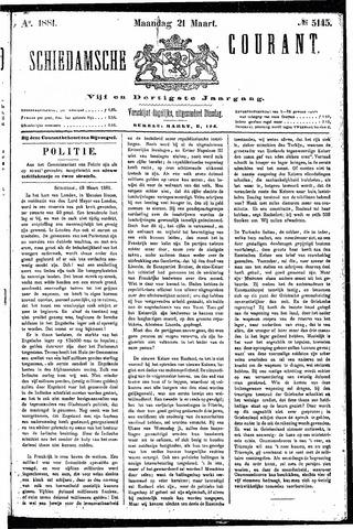 Schiedamsche Courant 1881-03-21