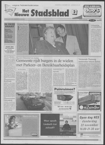 Het Nieuwe Stadsblad 2001-11-15