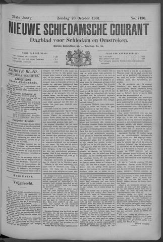 Nieuwe Schiedamsche Courant 1901-10-20