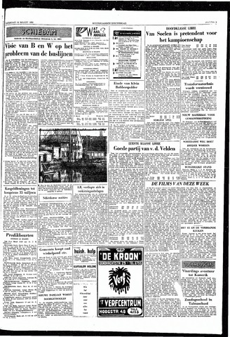 Rotterdamsch Nieuwsblad / Schiedamsche Courant / Rotterdams Dagblad / Waterweg / Algemeen Dagblad 1959-03-14
