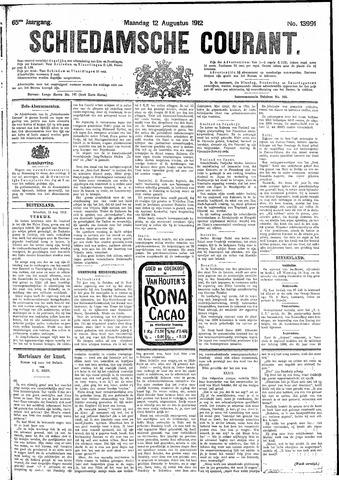 Schiedamsche Courant 1912-08-12