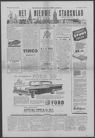 Het Nieuwe Stadsblad 1959-02-04