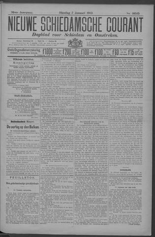 Nieuwe Schiedamsche Courant 1913-01-07