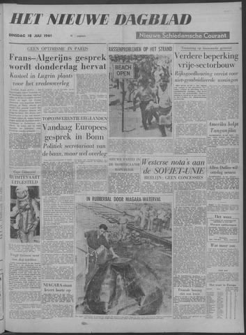 Nieuwe Schiedamsche Courant 1961-07-18