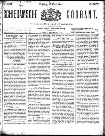 Schiedamsche Courant 1883-10-12