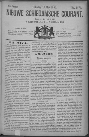 Nieuwe Schiedamsche Courant 1886-05-11
