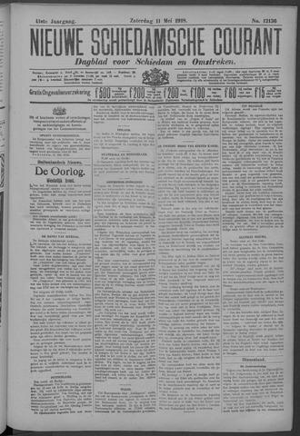Nieuwe Schiedamsche Courant 1918-05-11