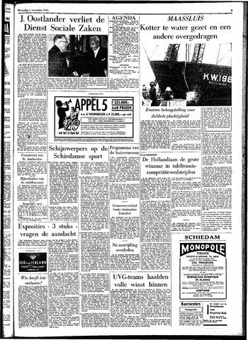 Rotterdamsch Parool / De Schiedammer 1961-11-01