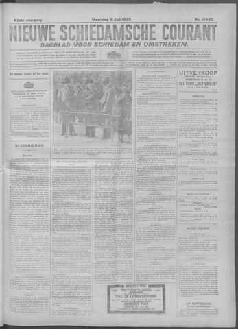 Nieuwe Schiedamsche Courant 1929-07-08