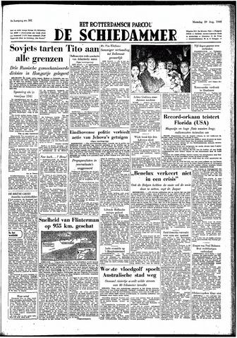 Rotterdamsch Parool / De Schiedammer 1949-08-29
