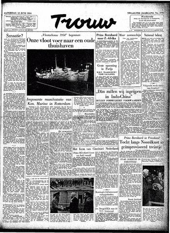 Trouw / De Rotterdammer 1954-06-12
