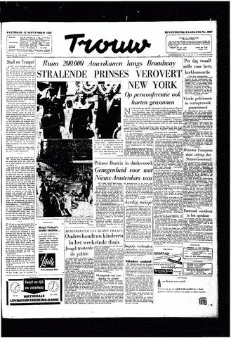 Trouw / De Rotterdammer 1959-09-12