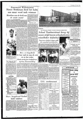 Rotterdamsch Parool / De Schiedammer 1955-06-29