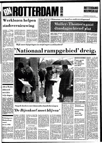 Rotterdamsch Nieuwsblad / Schiedamsche Courant / Rotterdams Dagblad / Waterweg / Algemeen Dagblad 1983-01-15