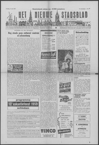 Het Nieuwe Stadsblad 1959-07-17
