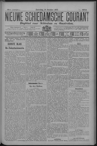 Nieuwe Schiedamsche Courant 1913-10-18