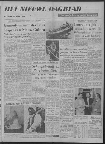 Nieuwe Schiedamsche Courant 1961-04-10