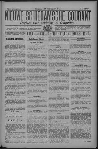 Nieuwe Schiedamsche Courant 1913-09-29