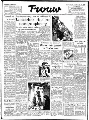 Trouw / De Rotterdammer 1955-06-07