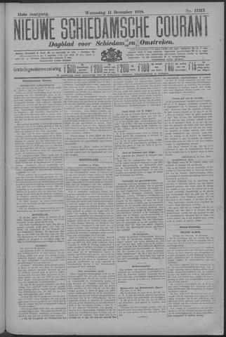 Nieuwe Schiedamsche Courant 1918-12-11