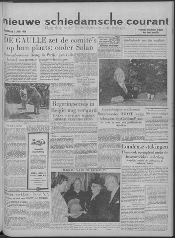 Nieuwe Schiedamsche Courant 1958-06-07