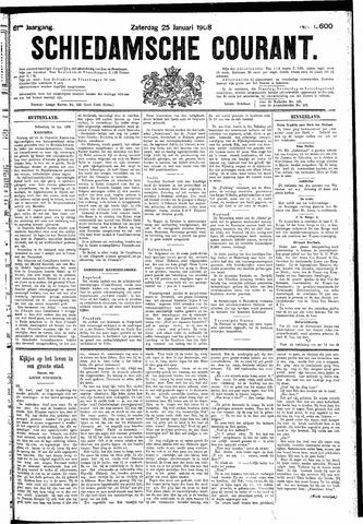 Schiedamsche Courant 1908-01-25