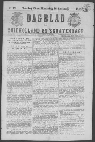 Dagblad van Zuid-Holland 1860-01-15