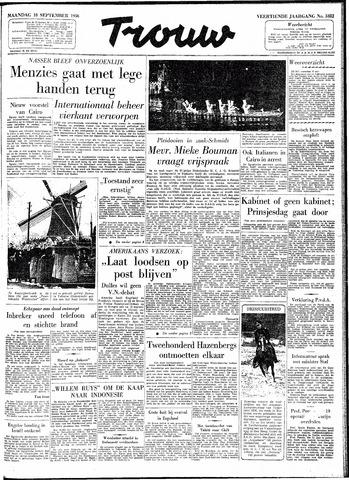 Trouw / De Rotterdammer 1956-09-10