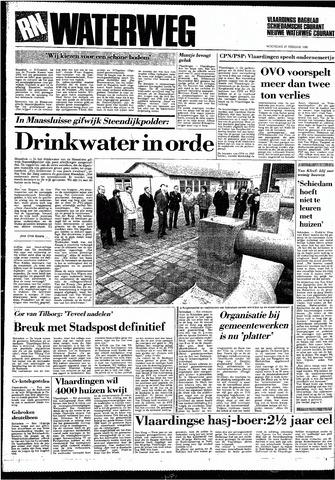 Rotterdamsch Nieuwsblad / Schiedamsche Courant / Rotterdams Dagblad / Waterweg / Algemeen Dagblad 1985-02-27