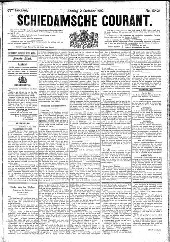 Schiedamsche Courant 1910-10-02