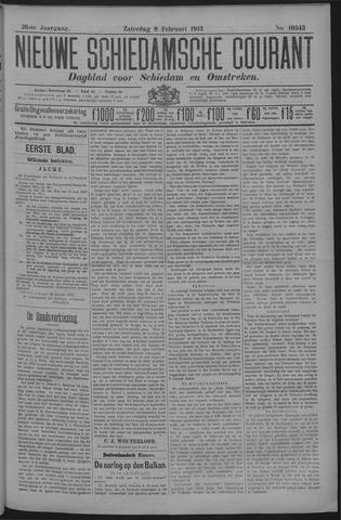 Nieuwe Schiedamsche Courant 1913-02-08