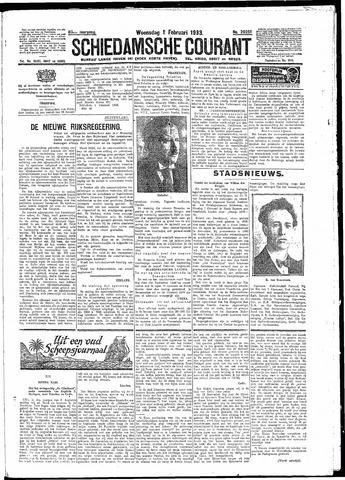 Schiedamsche Courant 1933-02-01